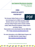 CEMA Safety Poster Set