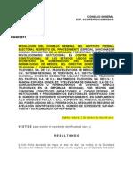 proceso denuncia IFE