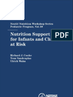 Nutrition Support for Infants and Children at Risk