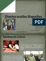 Diseños textiles Mapuches