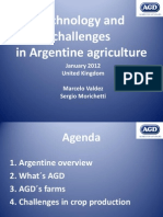 Technology and Challenges in Argentine agricultura – United Kingdom