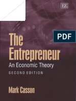 The Entrepreneur - An Economic Theory, 2nd Ed
