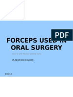 Forceps Used in Oral Surgery