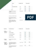 IGCSE Core Checklist