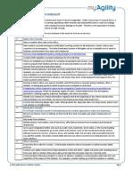 Tornado Preparedness Checklist
