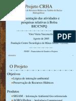 Conservação de Recursos Hídricos no Âmbito da Gestão Ambiental e Agrícola de Bacias Hídrográficas - Relatório CNPq