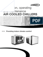 Air Cooled Chiller Operation and Installation