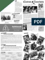 Lourdes 2012 - Le Clairon Lourdais - numéro 3 - 20 avril 2012