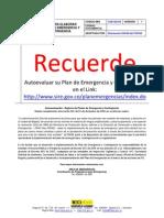 Guía Plan de Emergencias FOPAE