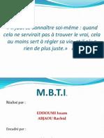 Présentation Du Test MBTI