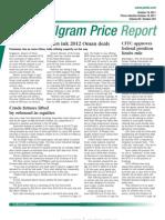 Oil Gram Price Report 101911