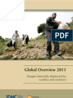 Reporte de desplazamiento global 2011