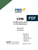 CPM - SAP