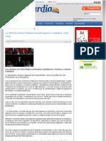 20-04-12 La reforma política fortalece la participación ciudadana