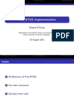 RTOS Implementation