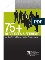 75+ Resources for Global R.E. Professionals