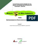 Manual de Meio Ambiente Do Daer