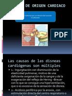 Disneas de Origen Cardiaco
