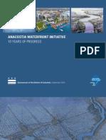 Anacostia Waterfront Initiative, 10 Years of Progress