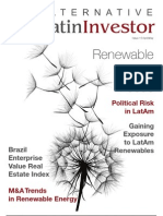 """Alternative Latin Investor"" o Mercados Financieros en Latinoamérica"