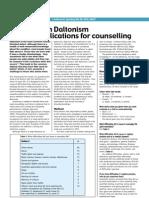 Doctors on Daltonism