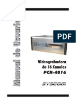 Manual en Espanol Pcr4016
