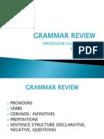 Grammar Review II (Eng 101)