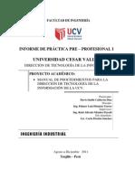Informe de PP1 - Davis Smith Calderon Diaz
