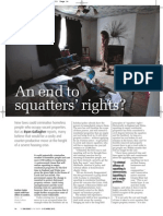 An end to squatters' rights?