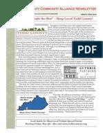 TCCA Newsletter April 2012
