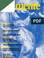 ELEMENTE zer Metapolitik - Issue 2