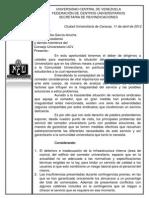 Carta Derecho de Palabra Cu1