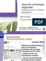 Guide Assainissement Routier
