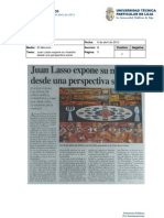 Informe de Prensa Del 13 Al 20 de Abril de 2012