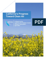 CAPCOA Progress Toward Clean Air 2012