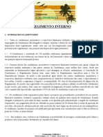 Regimento Interno on Line Em PDF