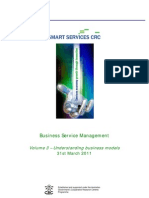 Business Service Management Volume 3 Mar2011 Understanding Business Models Final