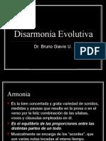 Disarmonia evolutiva
