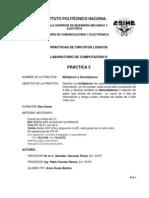 Practica 5 Multiplexor y Demultiplexor