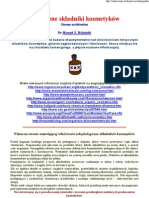Szkodliwe składnik kosmetyków - dr H