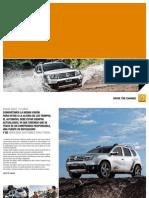 Catálogo y Ficha Técnica Renault Duster