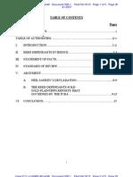 Liberi Et Al v Taitz Et Al - Plaintiffs Memorandum in Opp to Reeds MSJ Doc 500