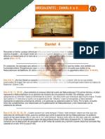 Puntos Sobresalientes de Biblia - Daniel 4 a 6