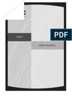 AOC177S 1 Manual
