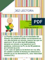 Fluidez Lectora-tamara Barrientos M Psicopedagogia Inacap