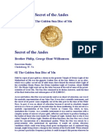 Secret of the Andes - The Golden Sun Disk of Mu