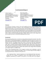 c2 Effective vs. Environmental Logistics