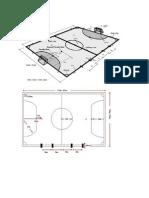 Gambar Dan Ukuran Lapangan Bola,Basket,Voly,Futsal
