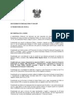PROCEDIMENTO PREPARATÓRIO Nº 34 INVESTIGAR  ONIPRESENÇA  DE  FUNCIONARIO  ASSOCIAÇÃO MARCA E SESAP