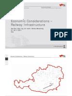 TUGraz EBW EconomicConsiderations-RailwayInfrastructure Cluj 2011 Han Dout2